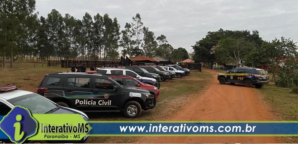 Operação captura membros de organização criminosa em Inocência