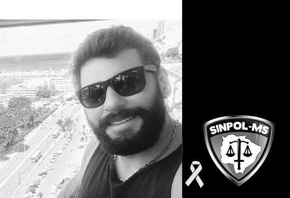 Entidades prestam homenagem a policial que perdeu a vida este domingo em Paranaíba