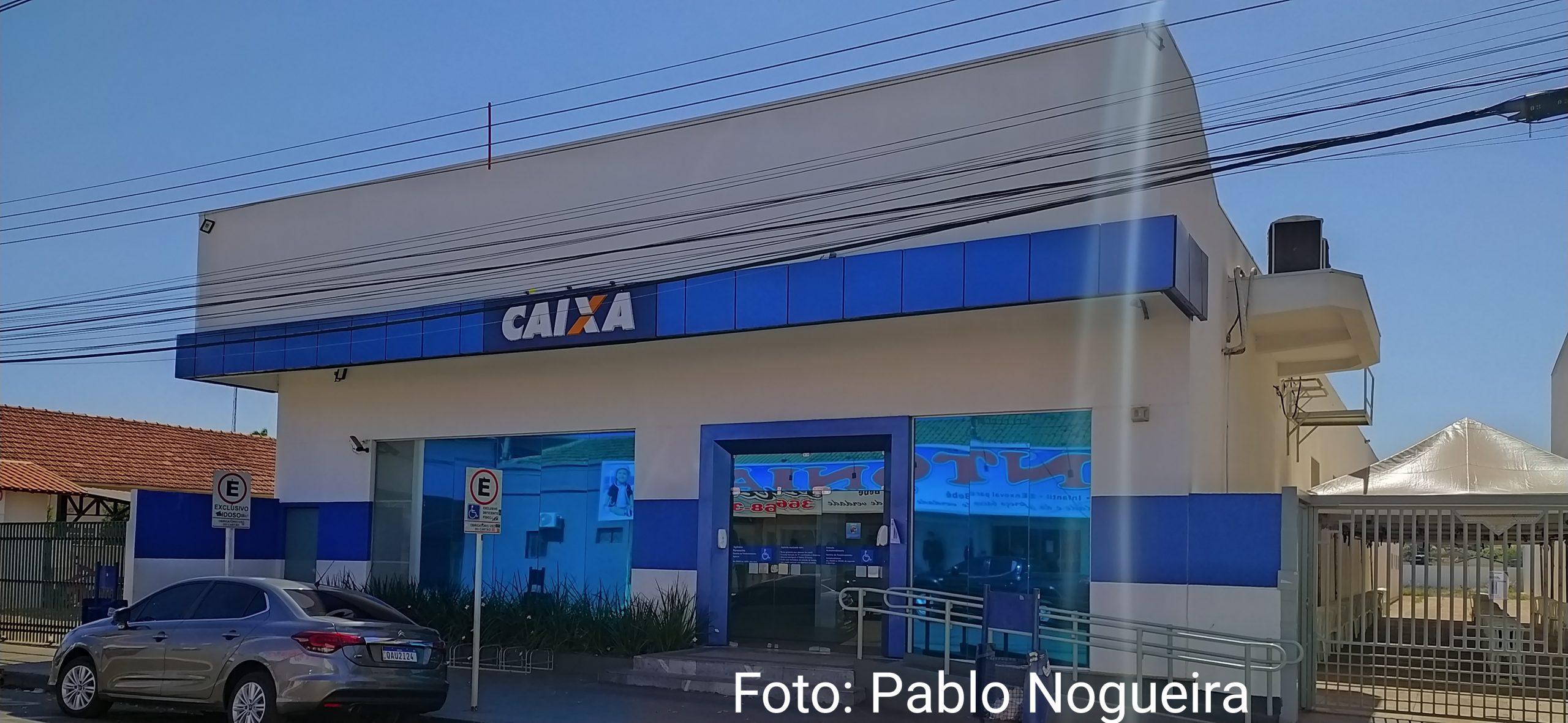 Agência da Caixa Econômica sofre tentativa de assalto em Paranaíba