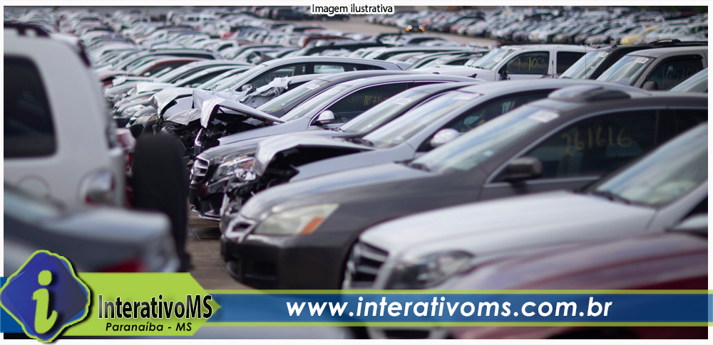 Leilão de veículos do TJMS encerra lances nesta quarta-feira