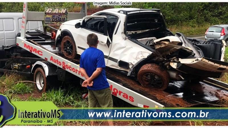 Mulher perde a vida em acidente na MS-497 em Paranaíba