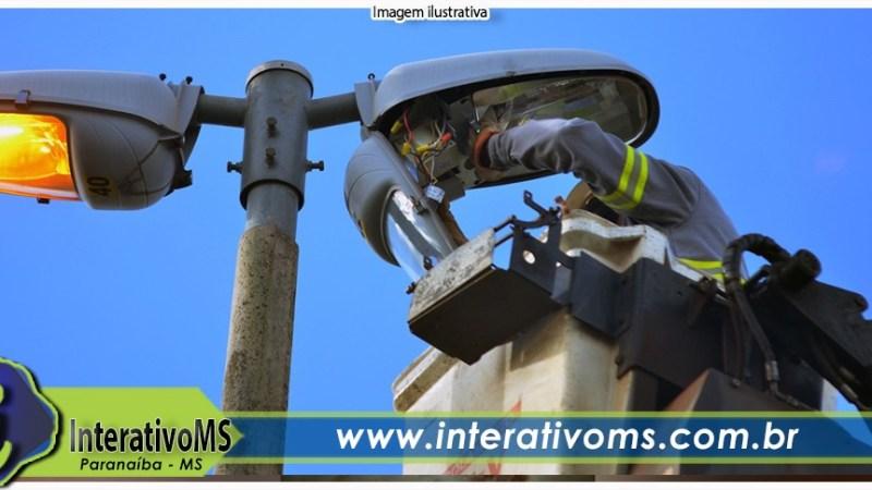 Paranaíba investe mais de R$ 1 milhão de recursos próprios em iluminação pública com lâmpadas de led
