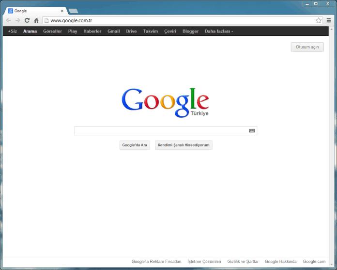 Web Tarayıcısı; Google Chrome