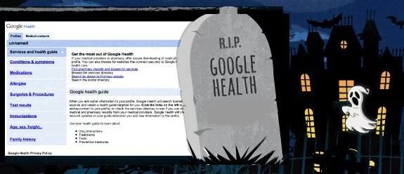 R.I.P Google Health