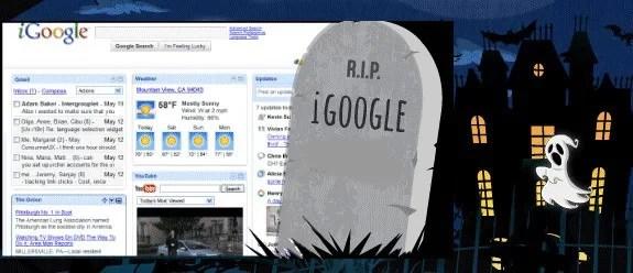 R.I.P iGoogle
