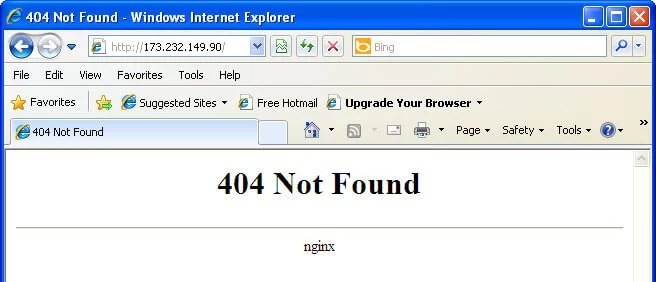 404 Not Found Nedir