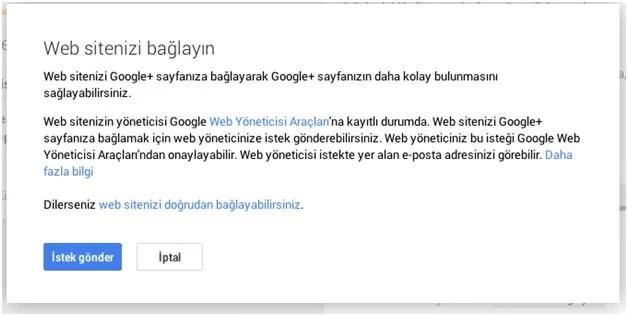 Google+ Kişiye ve Google+ Sayfalarına Özel URL Nasıl Alınır?