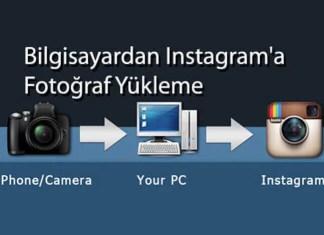 Bilgisayardan instagram'a Fotoğraf Yükleme
