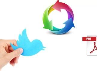 Twitter Konuşma Dizini PDF Olarak Nasıl Kaydedilir?