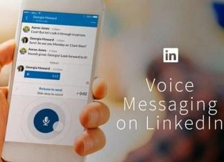 LinkedIn Sesli Mesajlaşma Özelliğini Getiriyor