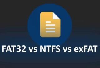 FAT32, NTFS ve exFAT Dosya Sistemleri Arasındaki Fark?