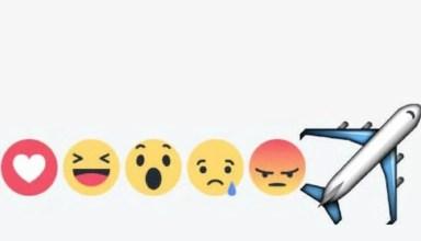 Yeni Facebook Beğeni Emojisi Uçak Nasıl Alınır?