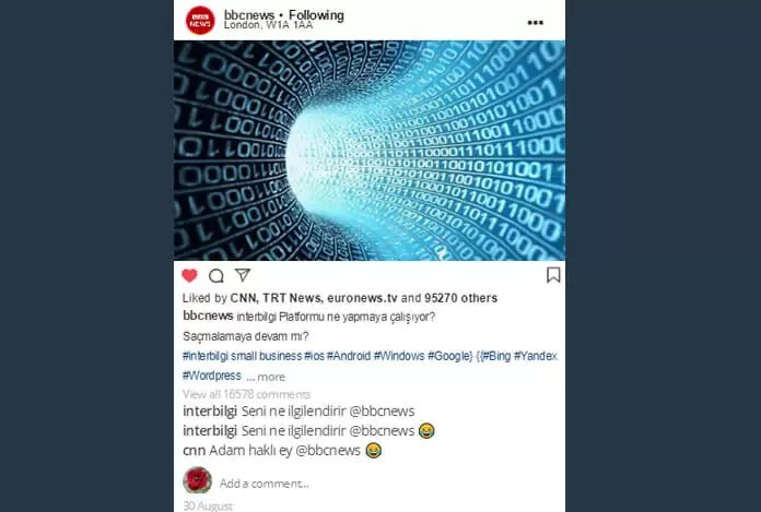 Sahte instagram Mesaj Simülatörü Web Siteleri