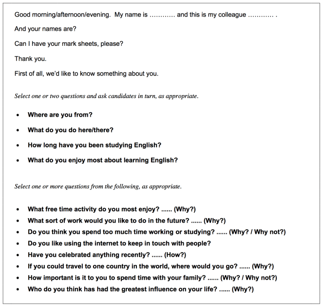 Cae speaking exam free example questions language learning online practice questions starter speaking questions c1 for the advanced cambridge esol exam cae spiritdancerdesigns Choice Image