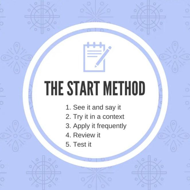 START METHOD