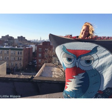 And soared high above Little Hippie HQ in Brooklyn