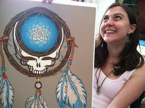 Laurie's Dreamcatcher at Gathering of the Vibes 2012