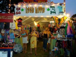 Little Hippie at Gathering of the Vibes 2008 Taylor & Laurie