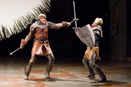 Henry IV Part 1 at Shakespeare Theatre Company, Washington, DC, directed by Michael Kahn with Joel David Santner