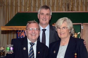 Donation to the Derbyshire Union of Golf Clubs