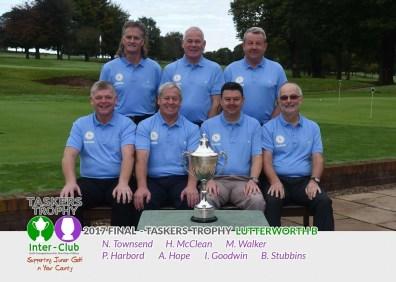 Lutterworth - Taskers Trophy Runners Up