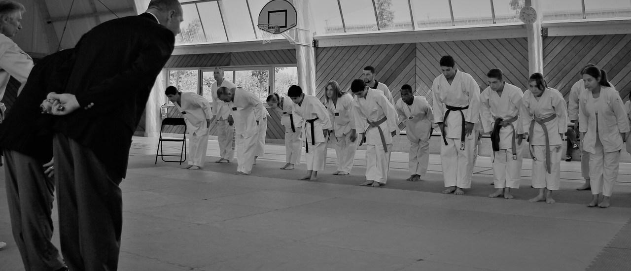 Dans le respect et la tradition du budo
