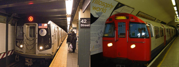 subway verses the tube train Of main london transport systems: 'the tube' and the 'the underground' that  these terms represent different areas of the train system.