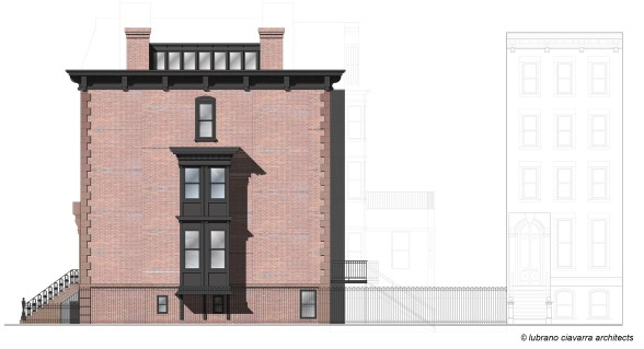 Row house Renovation Elevation