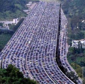 los angeles traffic jams