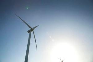 Vestas V47 Denmark sky turbine