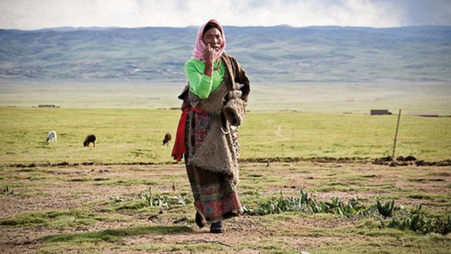 nomads in tibet
