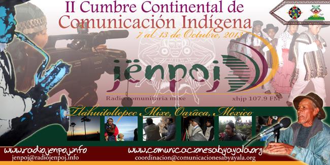 II Cumbre Continental de Comunicacion Indígena -w800
