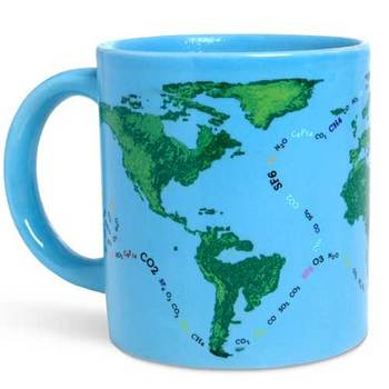 Pseudoscientific Adventures to Save the Planet globalmug