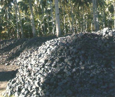 manganese pile