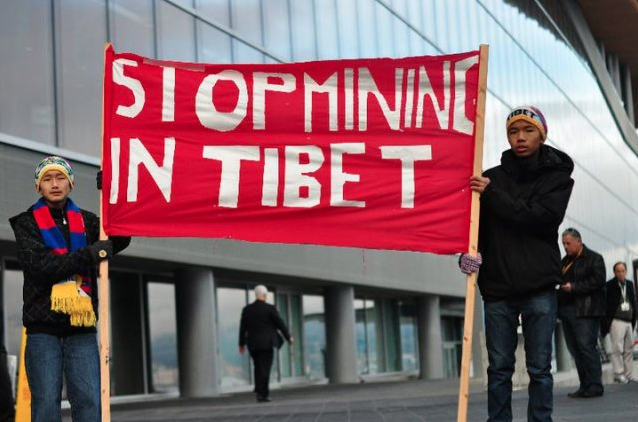 Photo from www.stopminingtibet.com