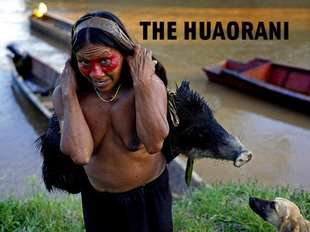 the huaorani