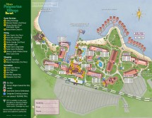 Disney World Polynesian Resort Map