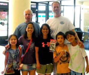 Natalie Mishka with families
