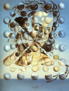 Galatea of the Spheres. Salvador Dalí. 1952