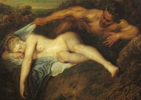 Jupiter and Antiope. Wateau