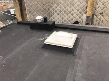 Renovatie plat dak wenduine 2