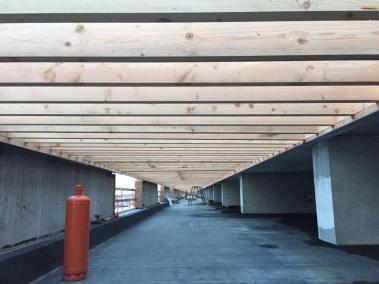 Roostering plat dak dok noord gent2