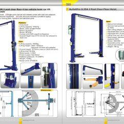 Automotive Wiring Diagram Software Massey Ferguson Generator Bulletpro Bp40m 2 Post Clear Floor 4 Ton Vehicle Hoist Car Lift (entry Level) 240v - Interequip ...