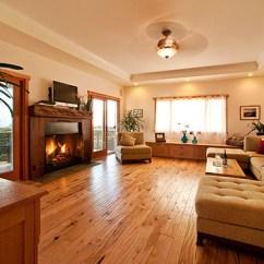 Living Rooms With Brown Couches Home Designs Room Дерево в интерьере – тепло доме