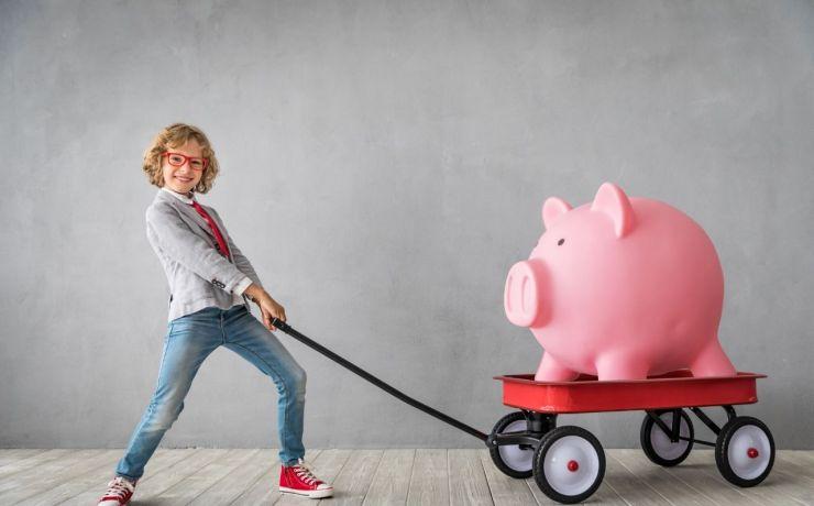 Educación financiera para los hijos