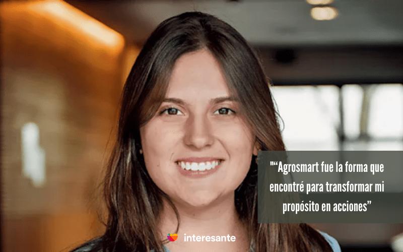 mujeres emprendedoras Mariana Vasconcelos , Agrosmart