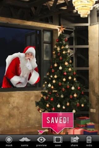 写真にサンタクロースをコラージュ『SantaCollage』