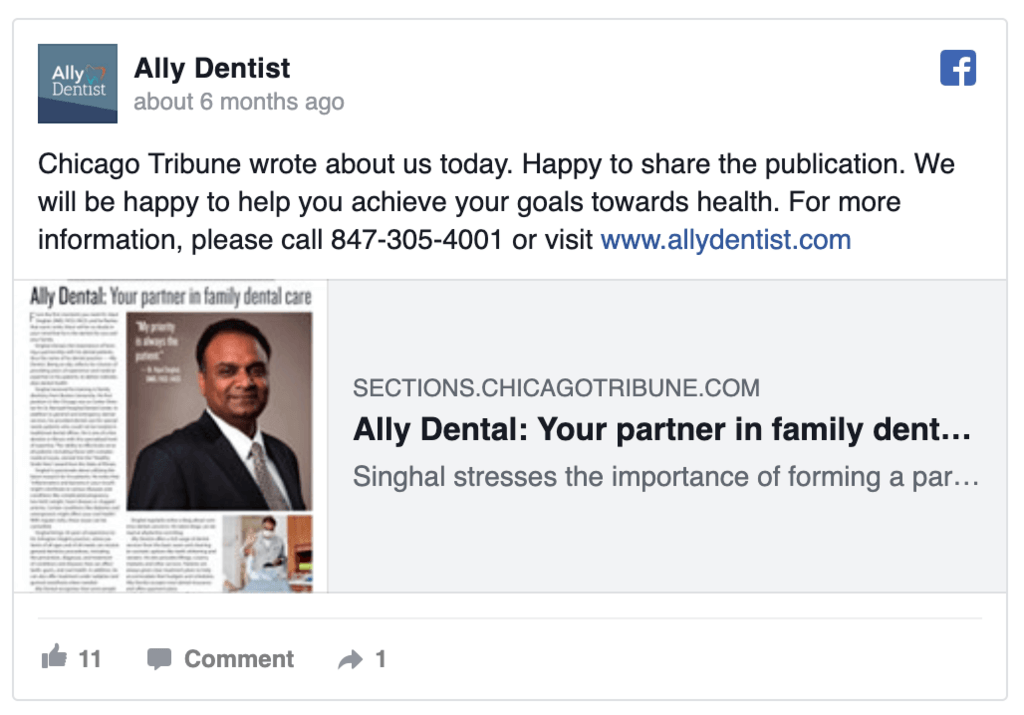 ally-dentist-facebook-ad