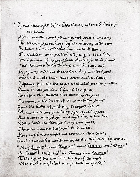 Poems About Christmas.10 Great Christmas Poems Interesting Literature