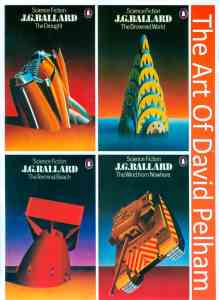 J. G. Ballard Book Covers